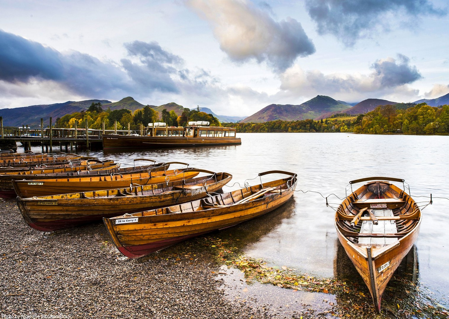 culture-local-boats-bikes-guided-leisure-tour-lake-district-derwent.jpg - UK - Lake District - Derwent Water - Guided Leisure Cycling Holiday - Leisure Cycling