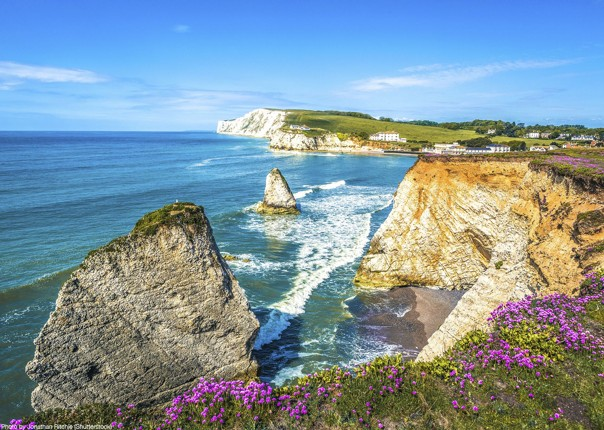 UK - Isle of Wight - Freshwater Bay - Self-Guided Leisure Cycling Holiday Image