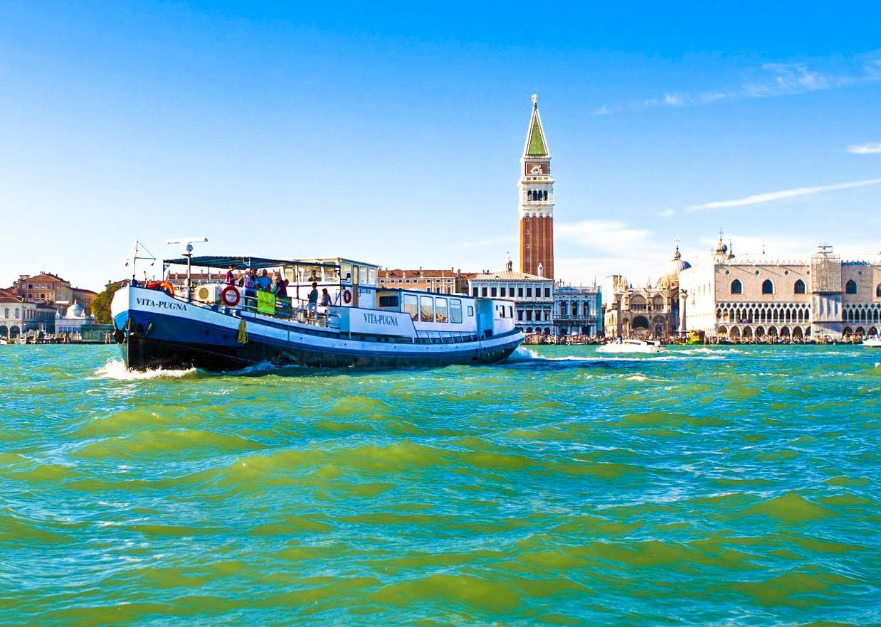 venice-vita-pugna-fun-group-cycling-holiday-vacation-tour.jpg - Italy - Venetian Waterways (Mantova to Venice) - Bike and Barge Holiday - Leisure Cycling