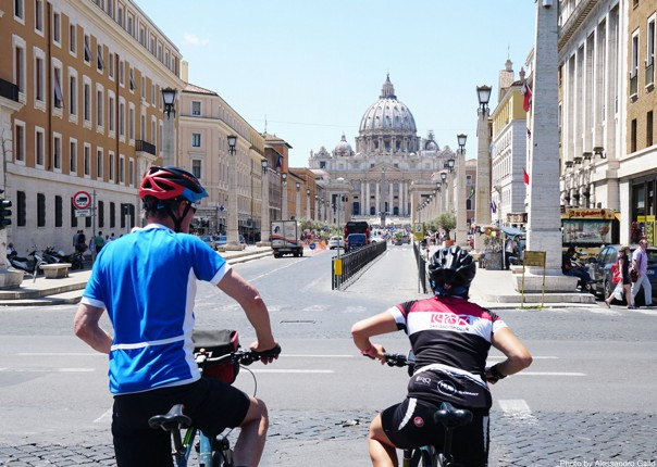 Italy-Via-Francigena-Tuscany-to-Rome-Guided-Leisure-Cycling-Holiday-Vatican - Italy - Via Francigena (Tuscany to Rome) - Leisure Cycling