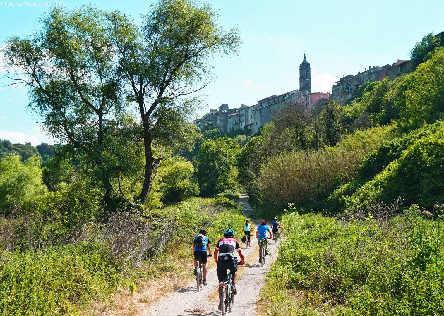 Italy-Via-Francigena-Tuscany-to-Rome-Guided-Leisure-Cycling-Holiday-on-the-way-to-rome - Italy - Via Francigena (Tuscany to Rome) - Guided Leisure Cycling Holiday - Leisure Cycling