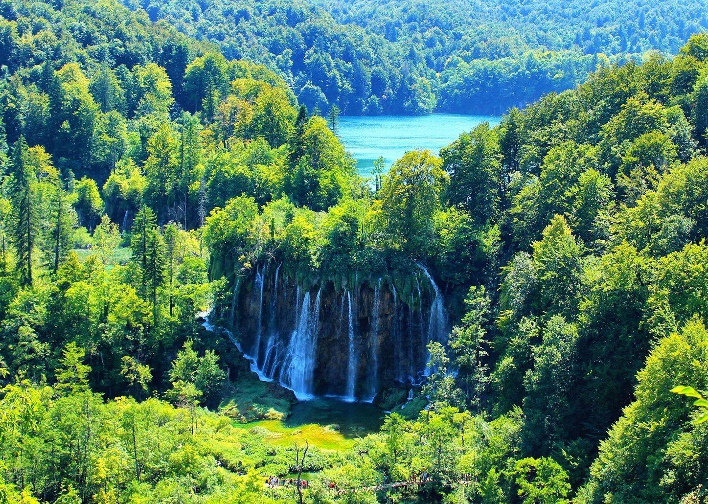 waterfalls-of-krka-canyon-croatia-bike-tour.jpg - Croatia - Dalmatian National Parks and Islands Plus - Bike and Boat Holiday - Leisure Cycling