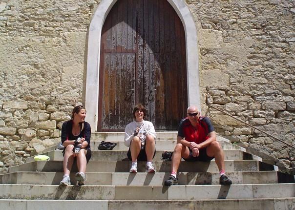 rest-stop-cycling-holiday-sardinia.jpg - Italy - Sardinia - Coast to Coast - Self-Guided Leisure Cycling Holiday - Leisure Cycling