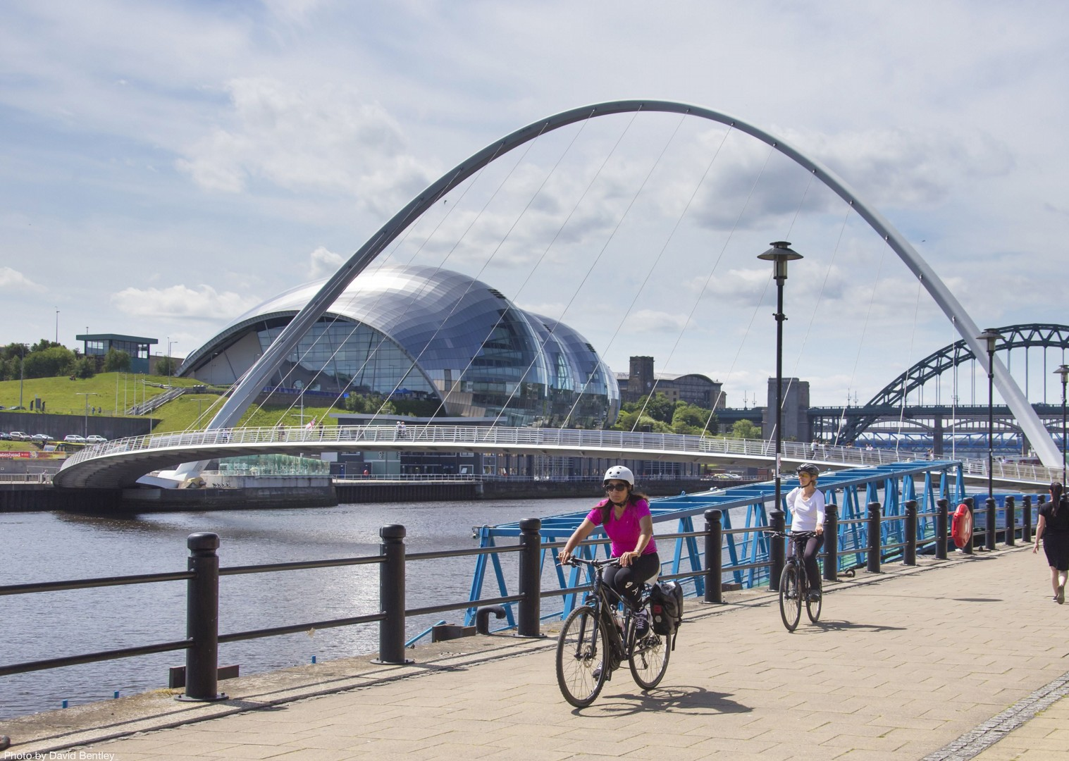 Self-Guided-Leisure-Cycling-Holiday-Hadrians-Cycleway-UK-Newcastle.jpg - NEW! UK - Romans, Reivers and Ancient Castles - Leisure Cycling