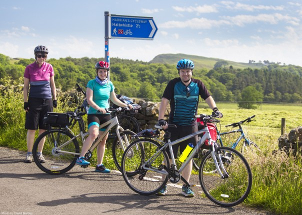 Self-Guided-Leisure-Cycling-Holiday-Hadrians-Cycleway-UK.jpg - NEW! UK - Romans, Reivers and Ancient Castles - Leisure Cycling