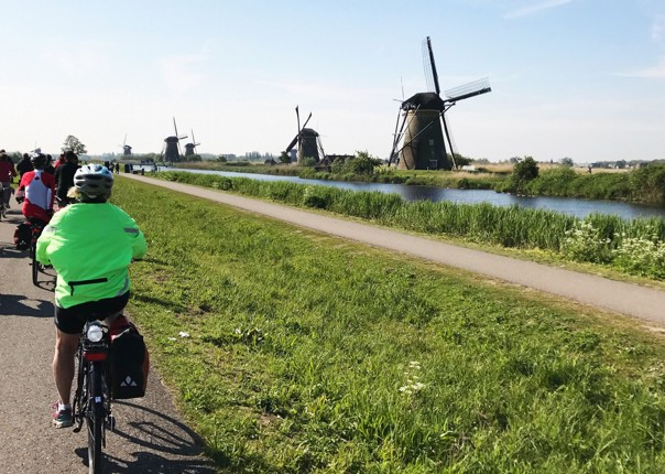 Holland and Belgium - Amsterdam to Bruges - Premium Bike and Barge Holiday Image