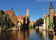 Holland and Belgium - Bruges to Amsterdam - Premium Bike and Barge Holiday Image