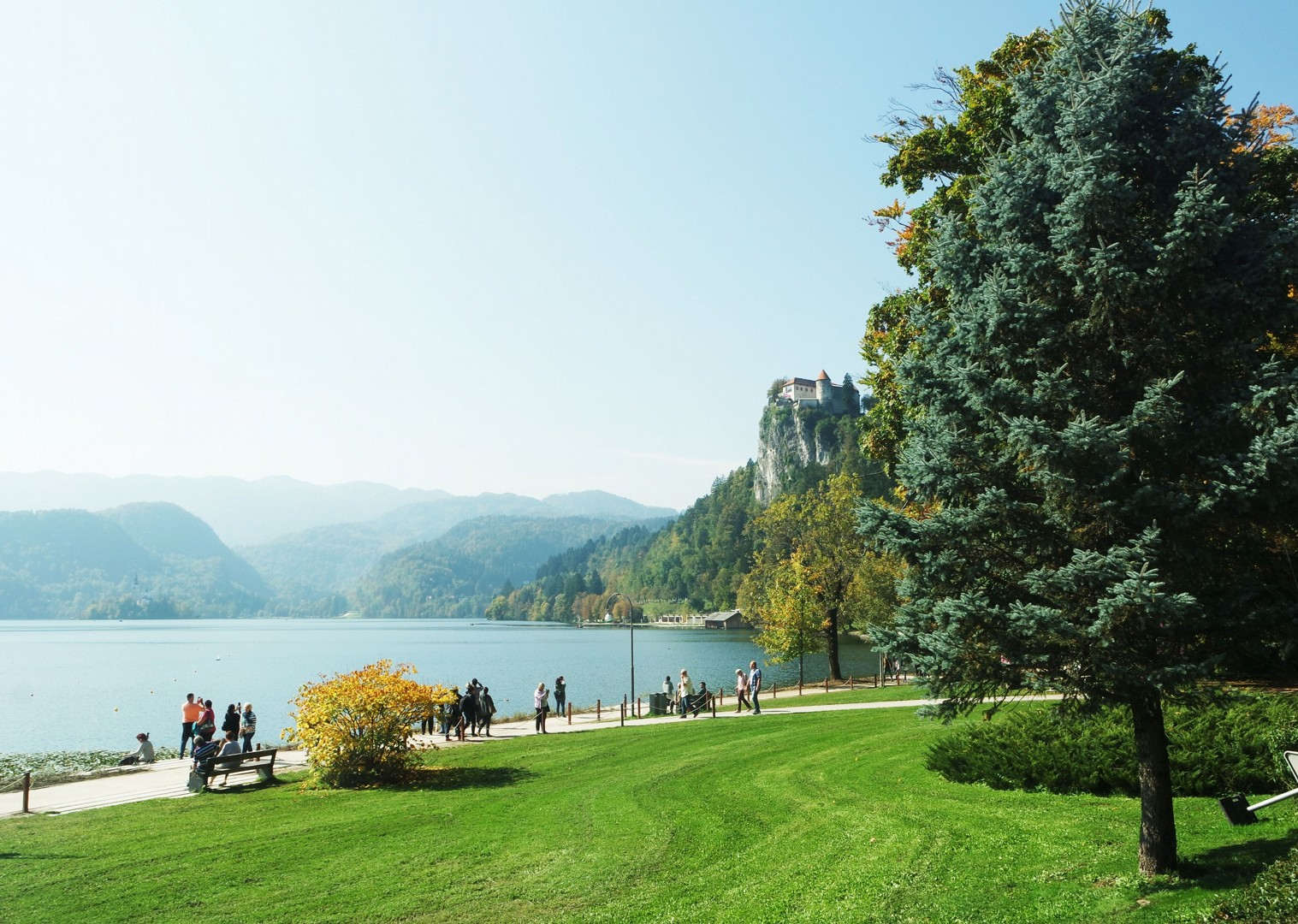 cycling-holiday-lake-bled-slovenia.JPG - Slovenia - Highlights of Lake Bled - Self-Guided Leisure Cycling Holiday - Leisure Cycling