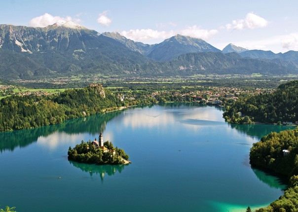 Slovenia - Highlights of Lake Bled - Self-Guided Leisure Cycling Holiday Image
