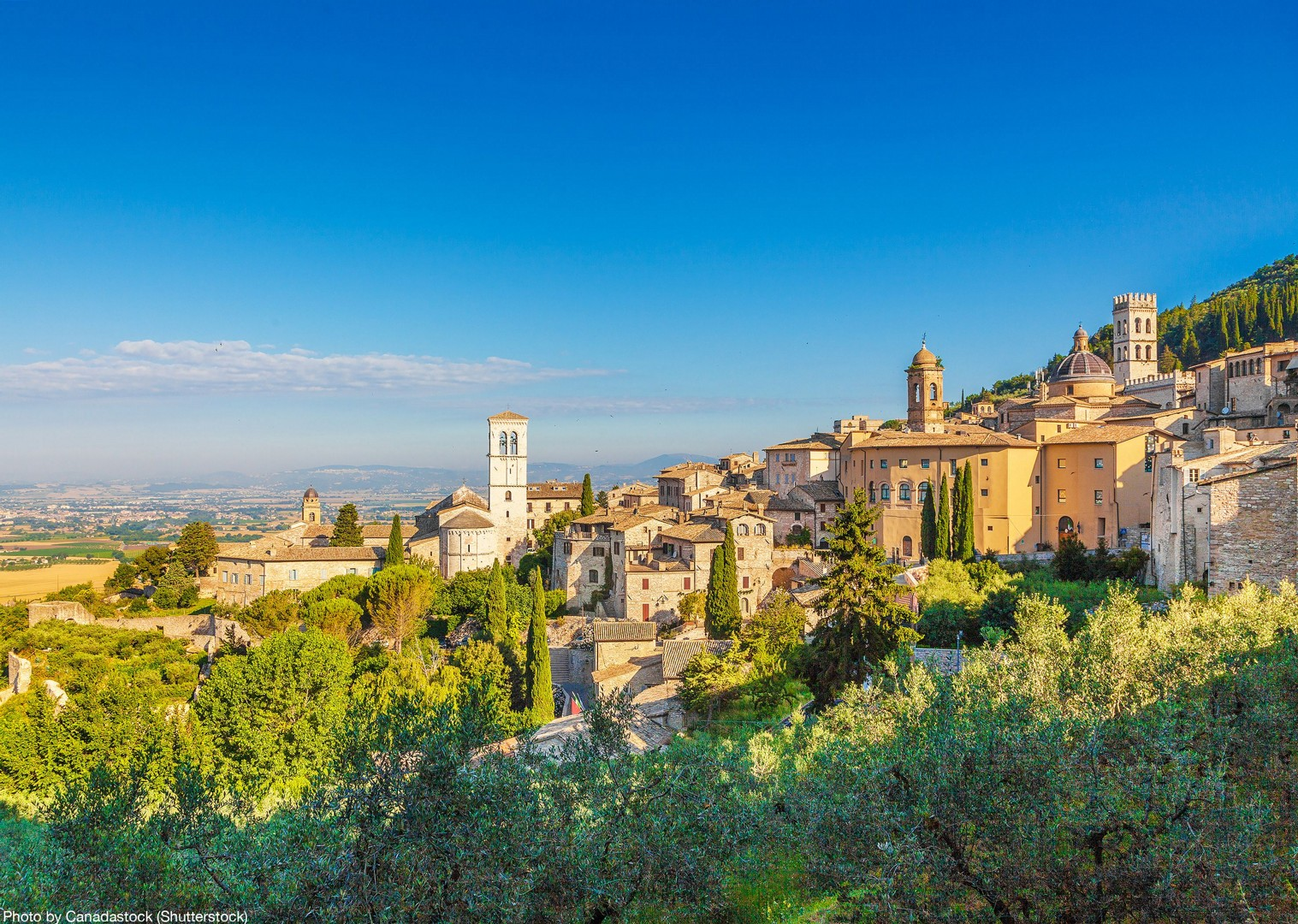 assisi-leisure-cycling-holiday-in-umbria-italy.jpg - Italy - Green Valley of Umbria - Self-Guided Leisure Cycling Holiday - Leisure Cycling