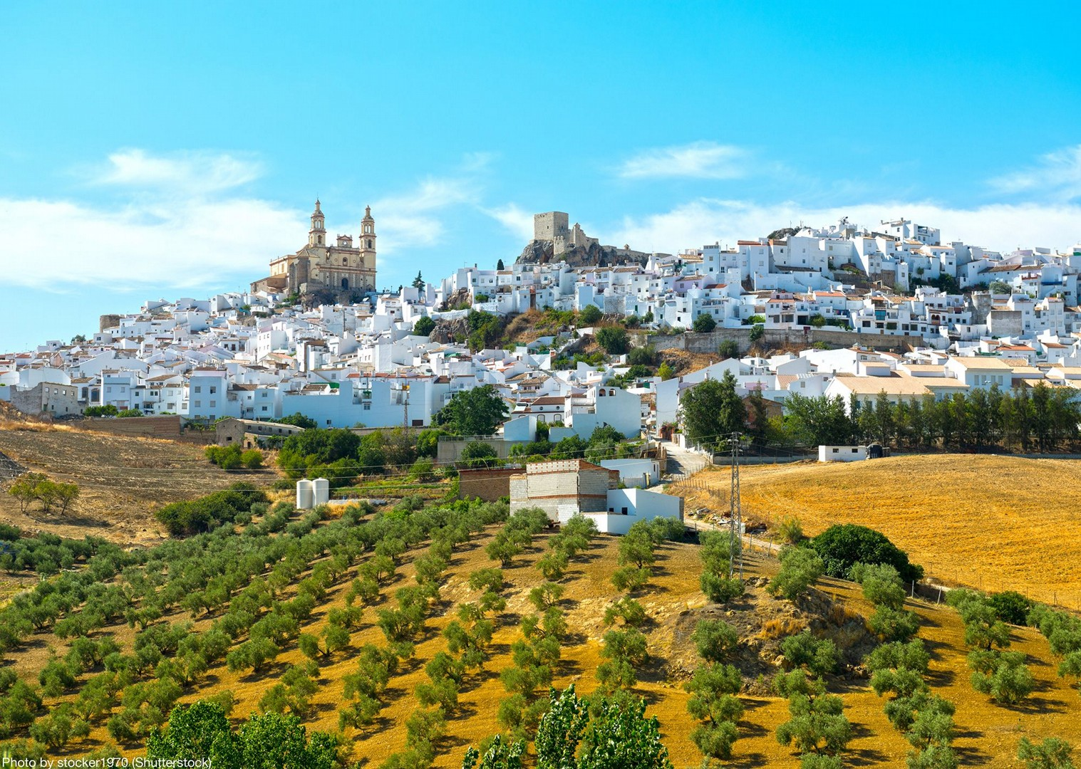 By stocker1970 shutterstock_681175240.jpg - Spain - Andalucia - White Villages to the Ocean - Leisure Cycling