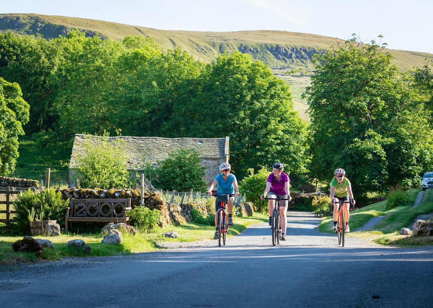 local-villages-of-yorkshire-moors-leisure-cycling.jpg - UK - Way of the Roses 5 Days Cycling - Self-Guided Leisure Cycling Holiday - Leisure Cycling