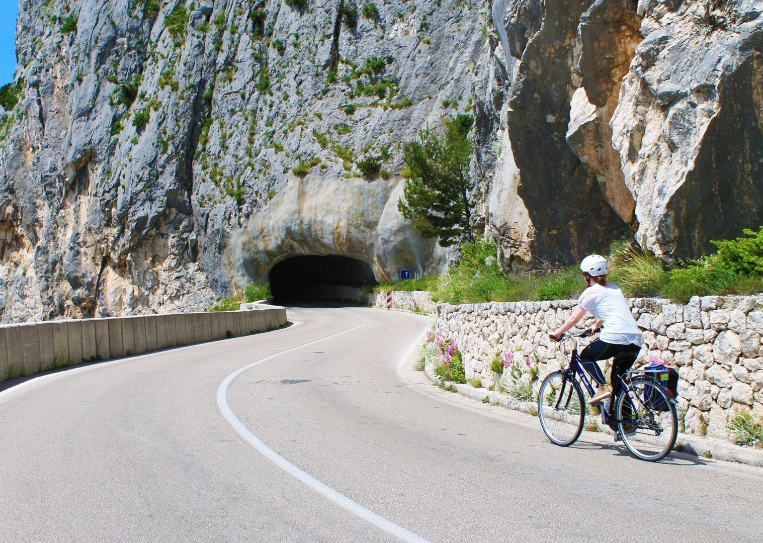 croatian-natural-tunnels-boat-biking-holiday.jpg - Croatia - Southern Dalmatia Plus - Bike and Boat Holiday - Leisure Cycling