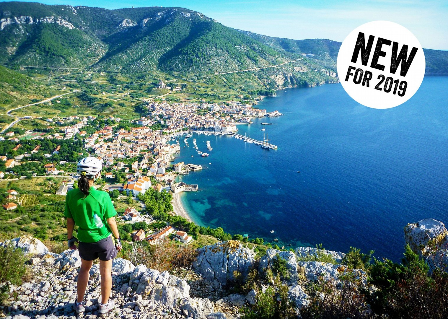 new-2019-southern-dalmatia-bike-and-boat-croatia-cycling.jpg - Croatia - Southern Dalmatia Plus - Bike and Boat Holiday - Leisure Cycling