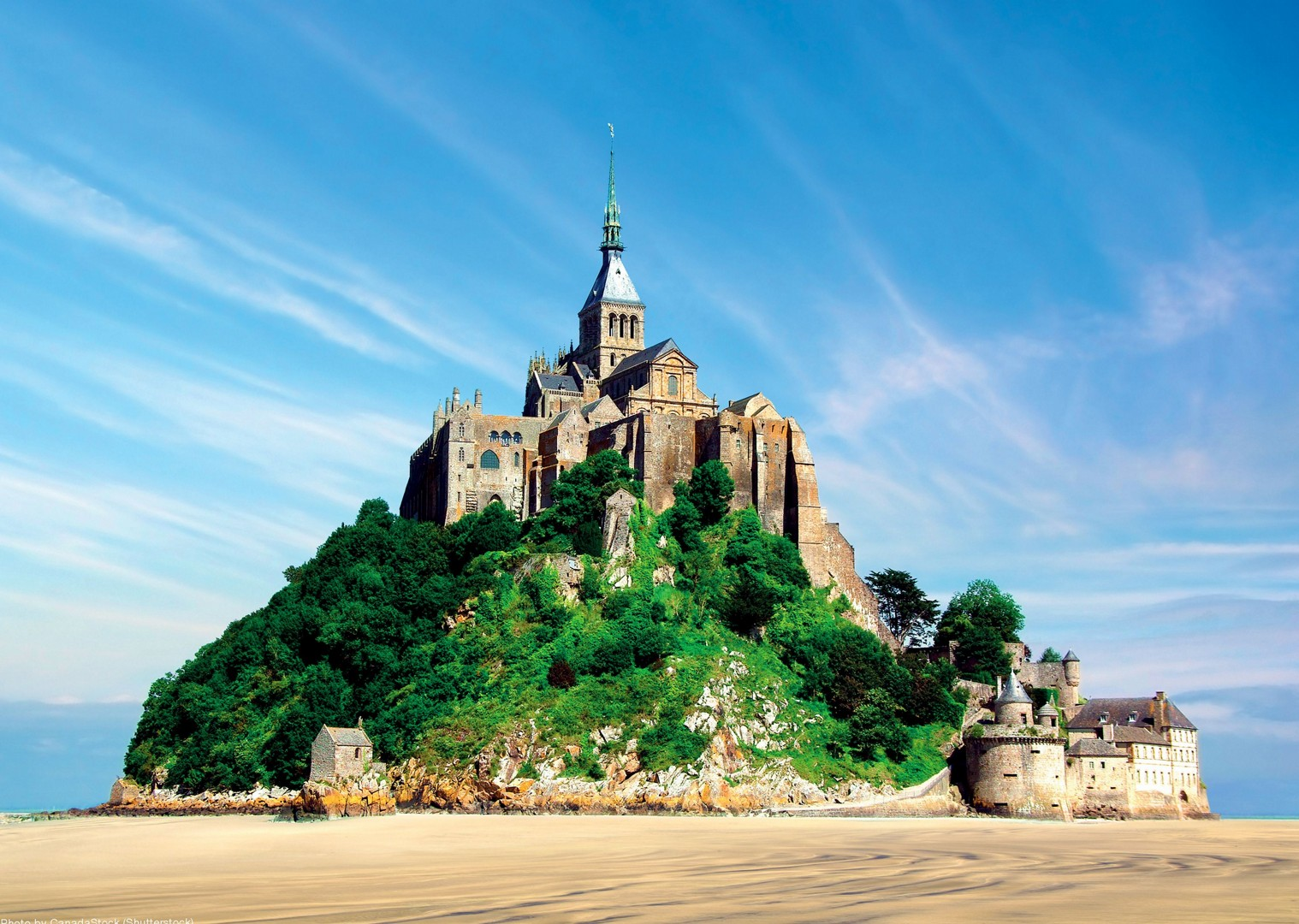 visit-mont-saint-michel-with-saddle-skedaddle-leisure-cycling-tours.jpg - France - Versailles to Mont Saint Michel - Self-Guided Leisure Cycling Holiday - Leisure Cycling