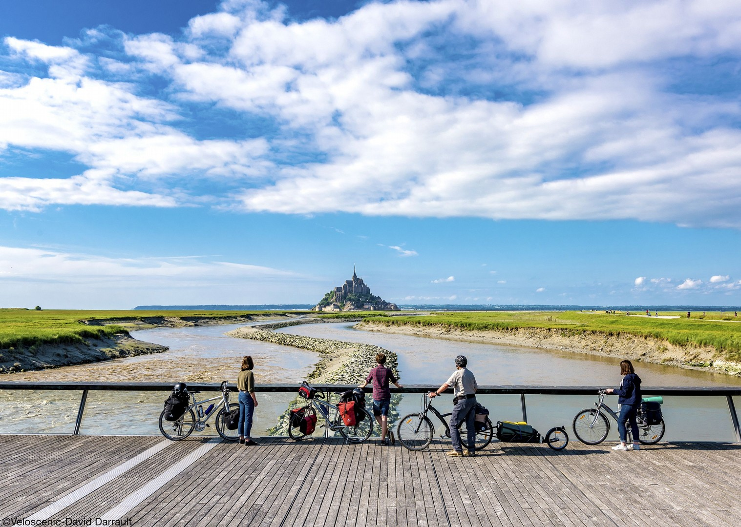 mont-saint-michel-versailles-cycling-holiday-fun-sights-leisure.jpg - NEW! France - Versailles to Mont Saint Michel - Self-Guided Leisure Cycling Holiday - Leisure Cycling