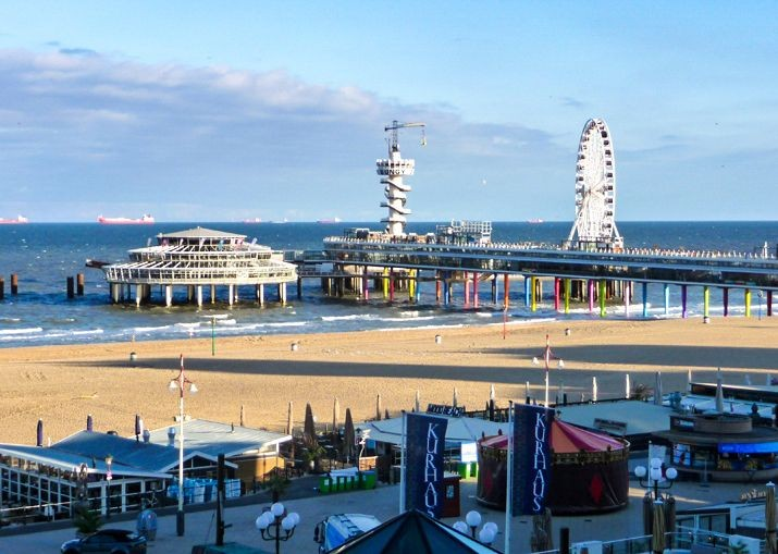 scheveningen-holland-beach-cities-cycling-trip-family-holiday-self-guided.jpg - Holland - Cities and Beaches of the South - Self-Guided Family Cycling Holiday - Family Cycling
