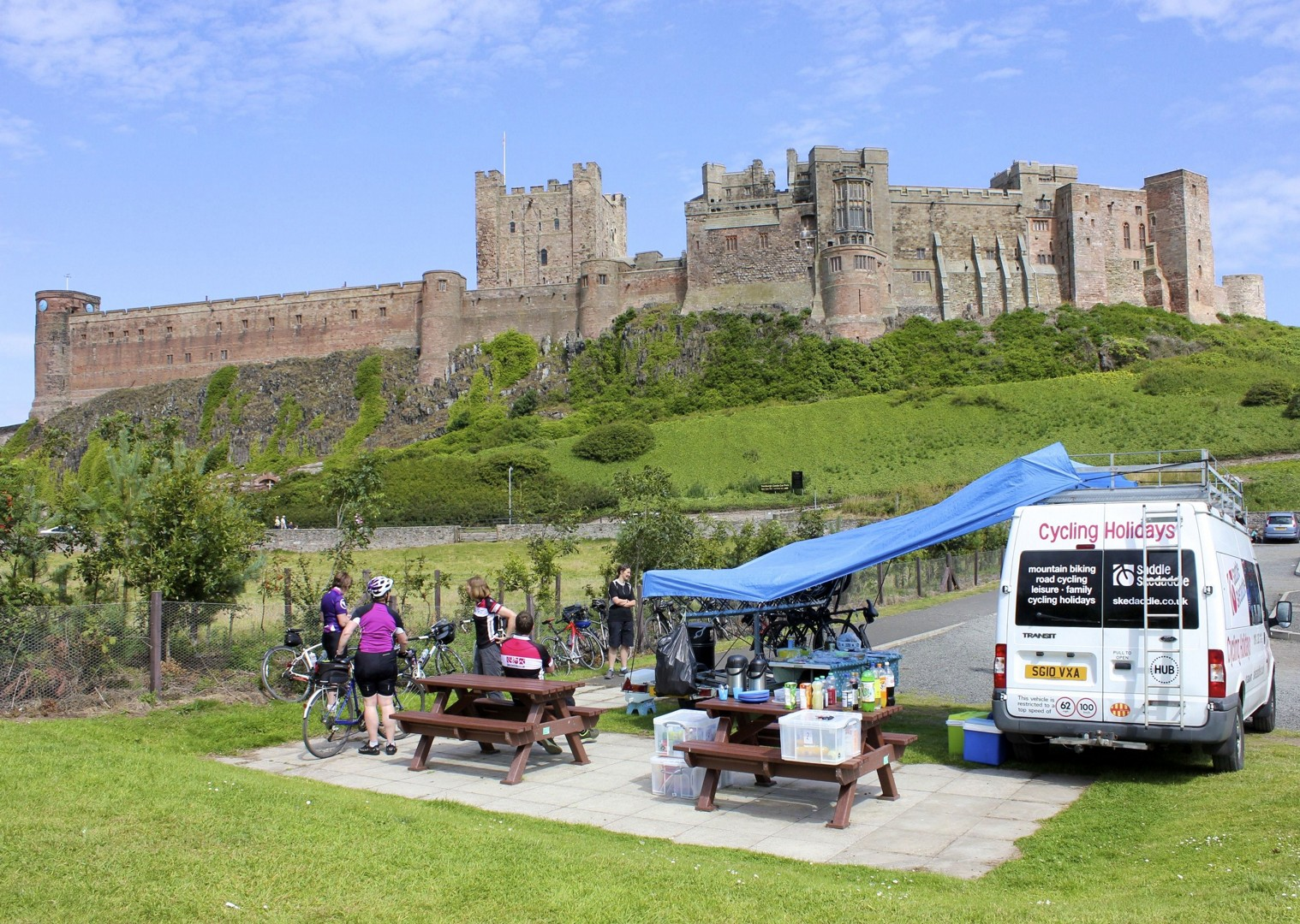 Coast&castles10.jpg - UK - Coast and Castles - Supported Leisure Cycling Holiday - Family Cycling