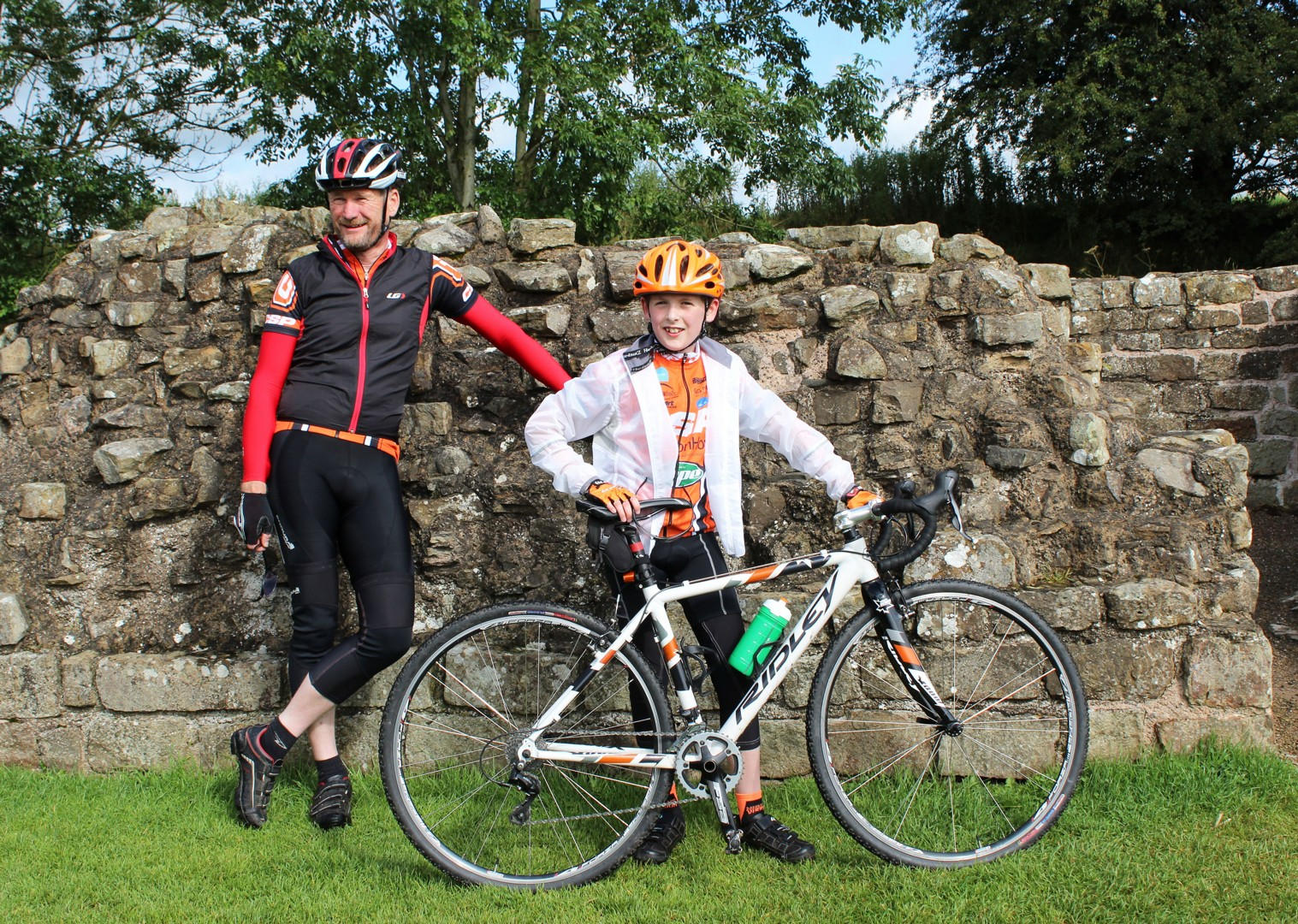 family-self-guided-cycling-holiday-hadrians-wall.jpg - UK - Highlights of Hadrian's Cycleway - Self-Guided Family Cycling Holiday - Family Cycling