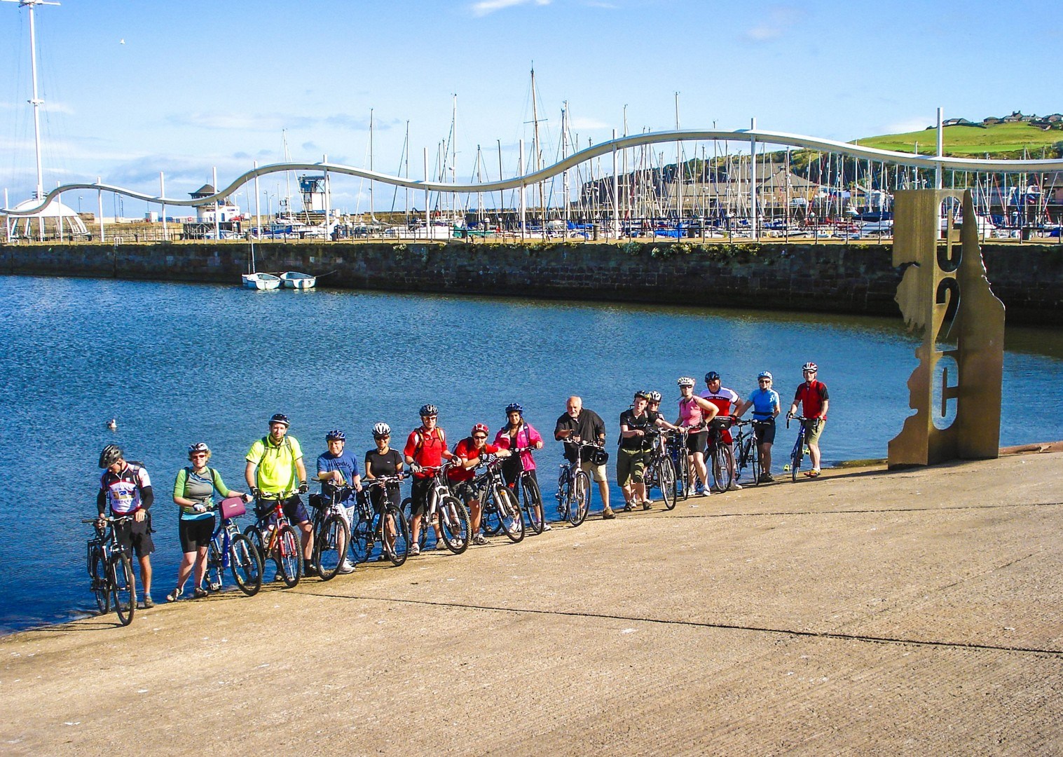 whitehaven-c2c-coast-to-coast-uk-cycling-tour.jpg - UK - C2C - Coast to Coast - Supported Leisure Cycling Holiday - Family Cycling