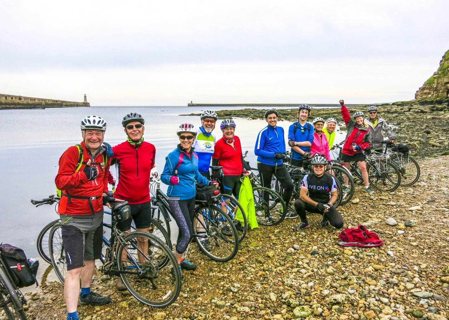 group-cycling-holiday-supported-coast-to-coast.jpg - UK - C2C - Coast to Coast - Supported Leisure Cycling Holiday - Family Cycling