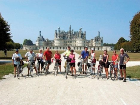 France - Loire - Valley of Castles - Family Cycling