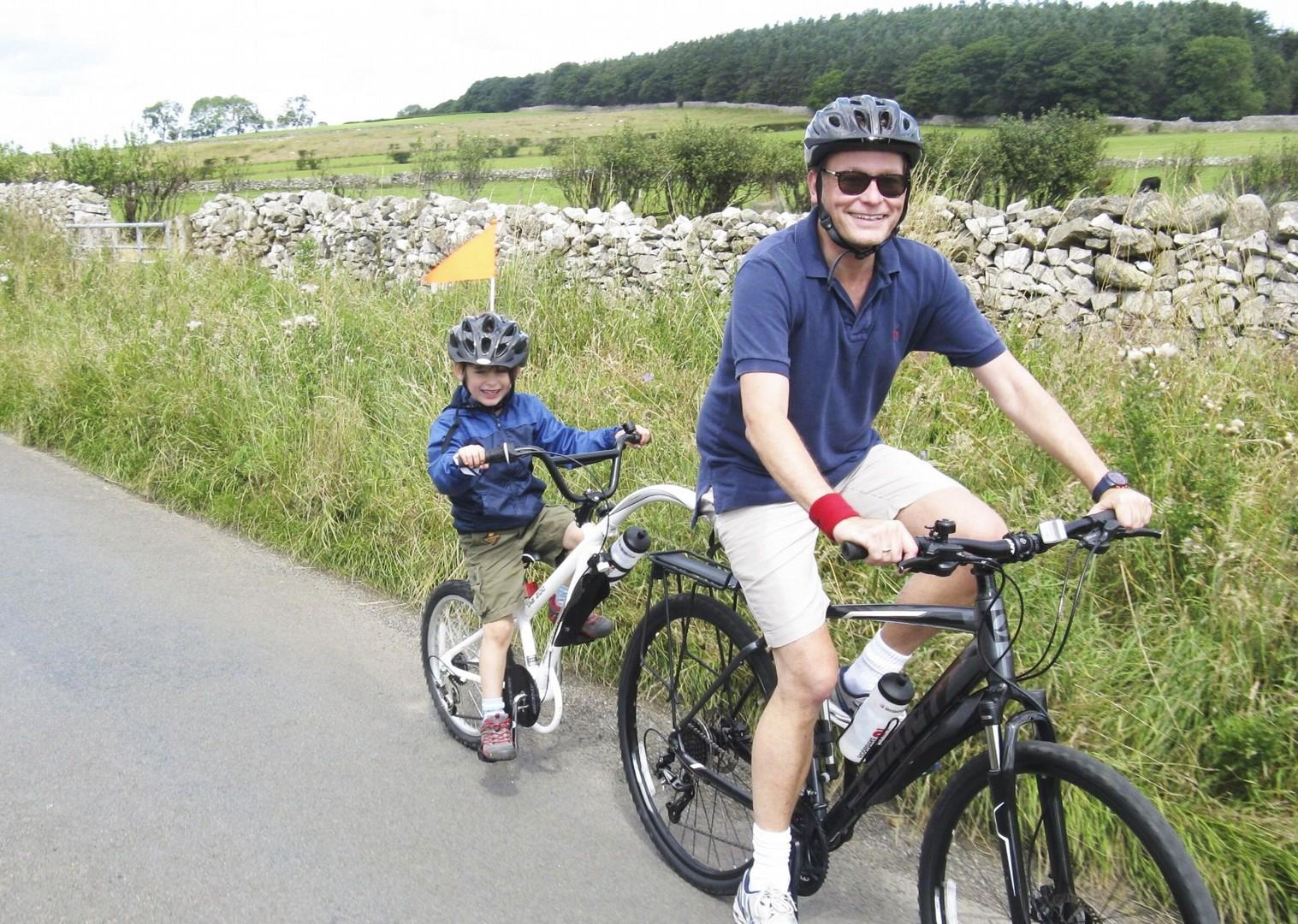 family-bike-skills-weekend-lake-district-uk.jpg - UK - Lake District - Guided Family Bike Skills - Family Cycling