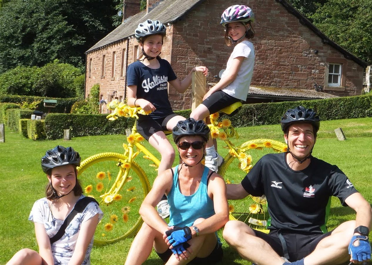 family-long-weekend-supported-cycling-hadrians-cycleway.jpg - UK - Hadrian's Cycleway 4 Day - Supported Family Cycling Holiday - Family Cycling