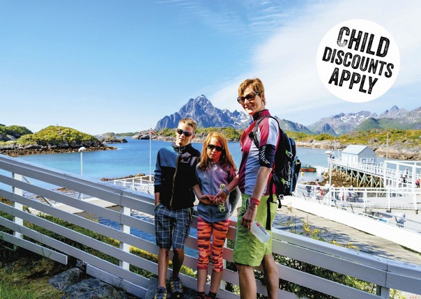 Norway - Lofoten Islands - Biking with Vikings - Self-Guided Family Cycling Holiday Image