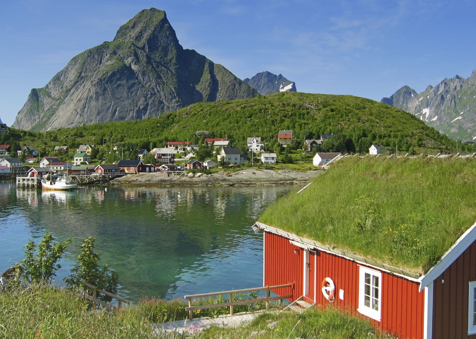 bigstockphoto_Island_Of_Moskenes_459629.jpg - Norway - Lofoten Islands - Biking with Vikings - Self-Guided Family Cycling Holiday - Family Cycling