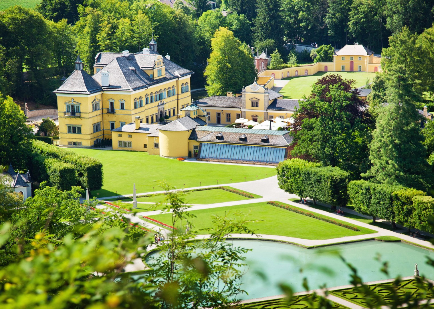 hellbrunn-palace-austrian-biking-tour-family-trip.jpg - Austria - Ten Lakes Tour - Self-Guided Family Cycling Holiday - Family Cycling
