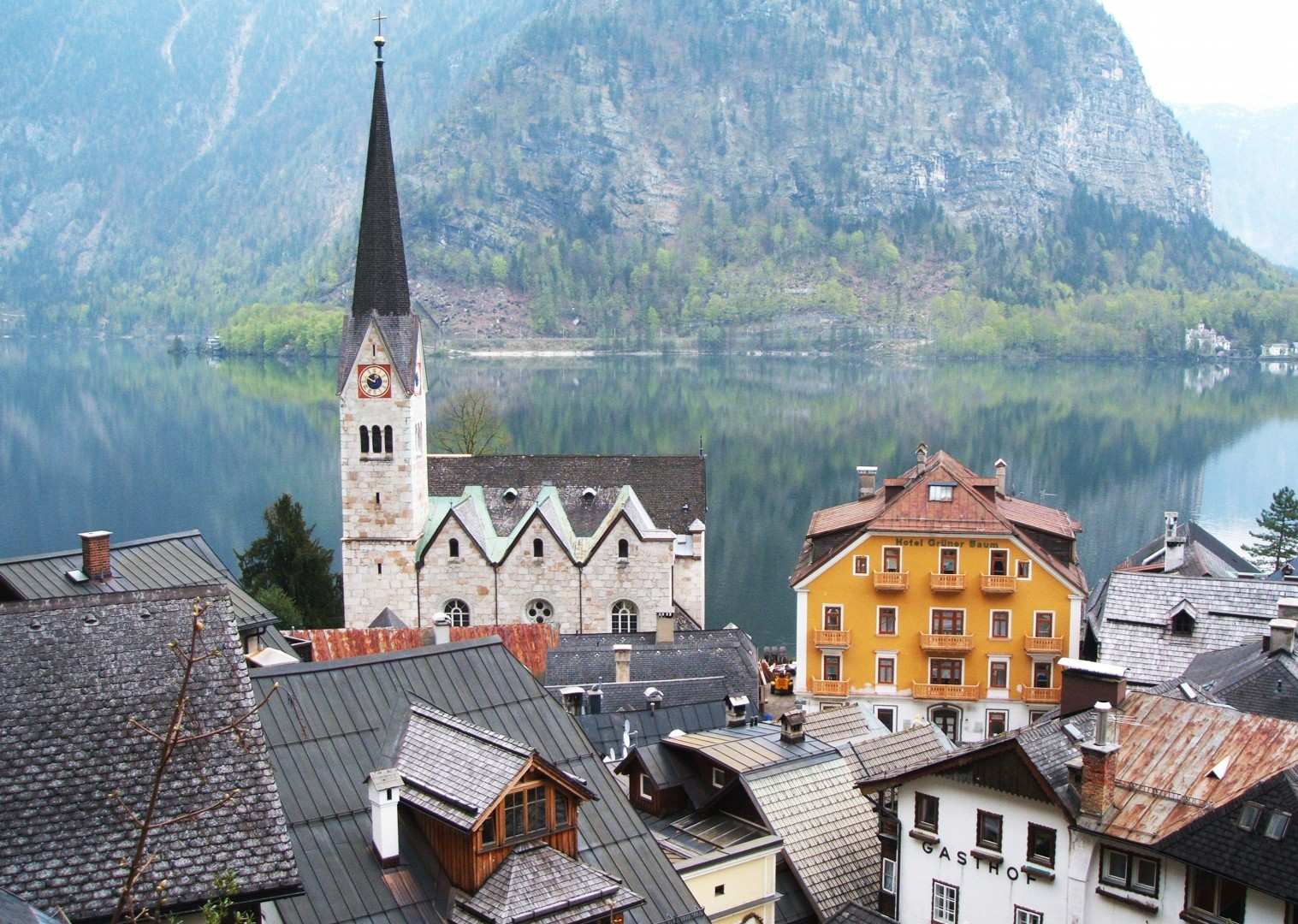 self-guided-family-cycling-holiday-austria-lake-hallstatt.jpg - Austria - Ten Lakes Tour - Self-Guided Family Cycling Holiday - Family Cycling