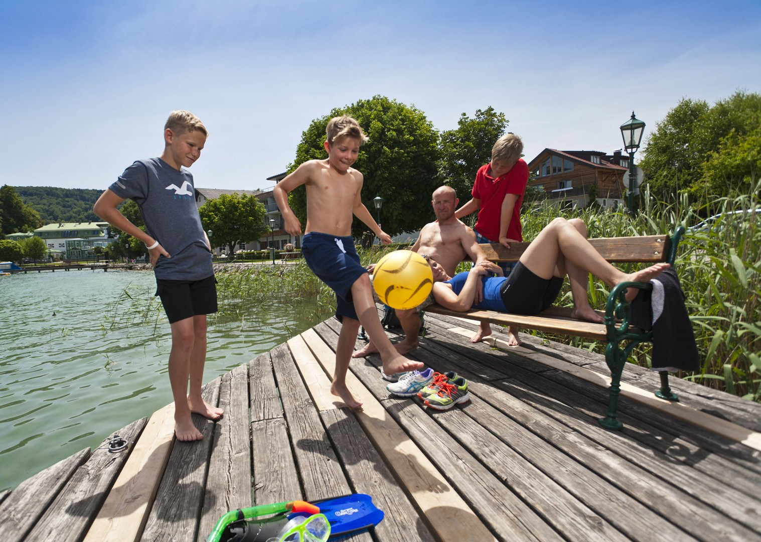 mattsee-austria-ten-lakes-tour-family-cycling-holiday.jpg - Austria - Ten Lakes Tour - Self-Guided Family Cycling Holiday - Family Cycling