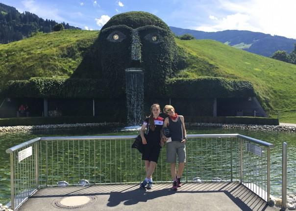 family-cycling-holiday-tryolean-austria-swarovski.jpg - Austria - Tyrolean Valleys - Self-Guided Family Cycling Holiday - Family Cycling