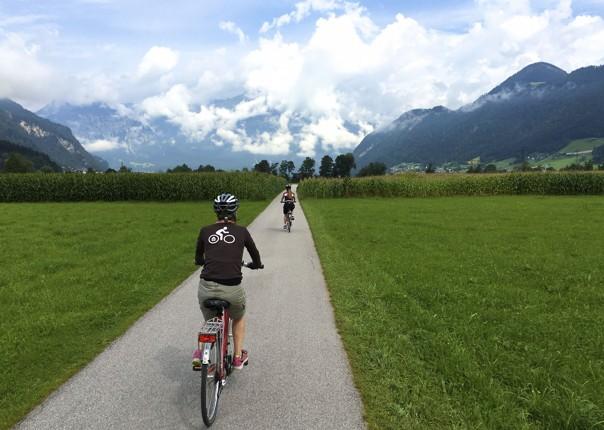 family-cycling-holiday-austria-tyroelan-valley.jpg - Austria - Tyrolean Valleys - Self-Guided Family Cycling Holiday - Family Cycling