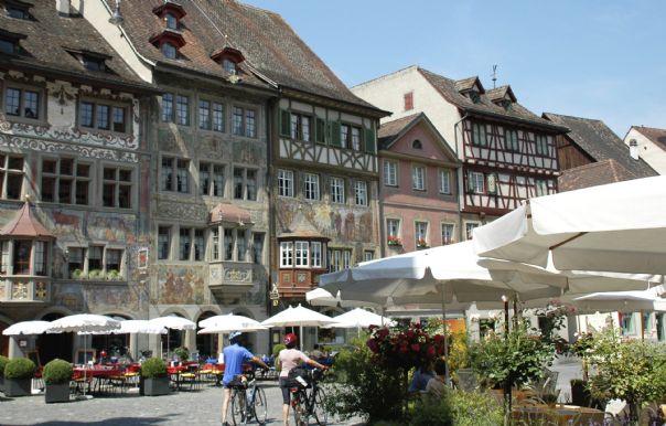 Stein am Rhein 3.jpg - Austria - Tyrolean Valleys - Self-Guided Family Cycling Holiday - Family Cycling