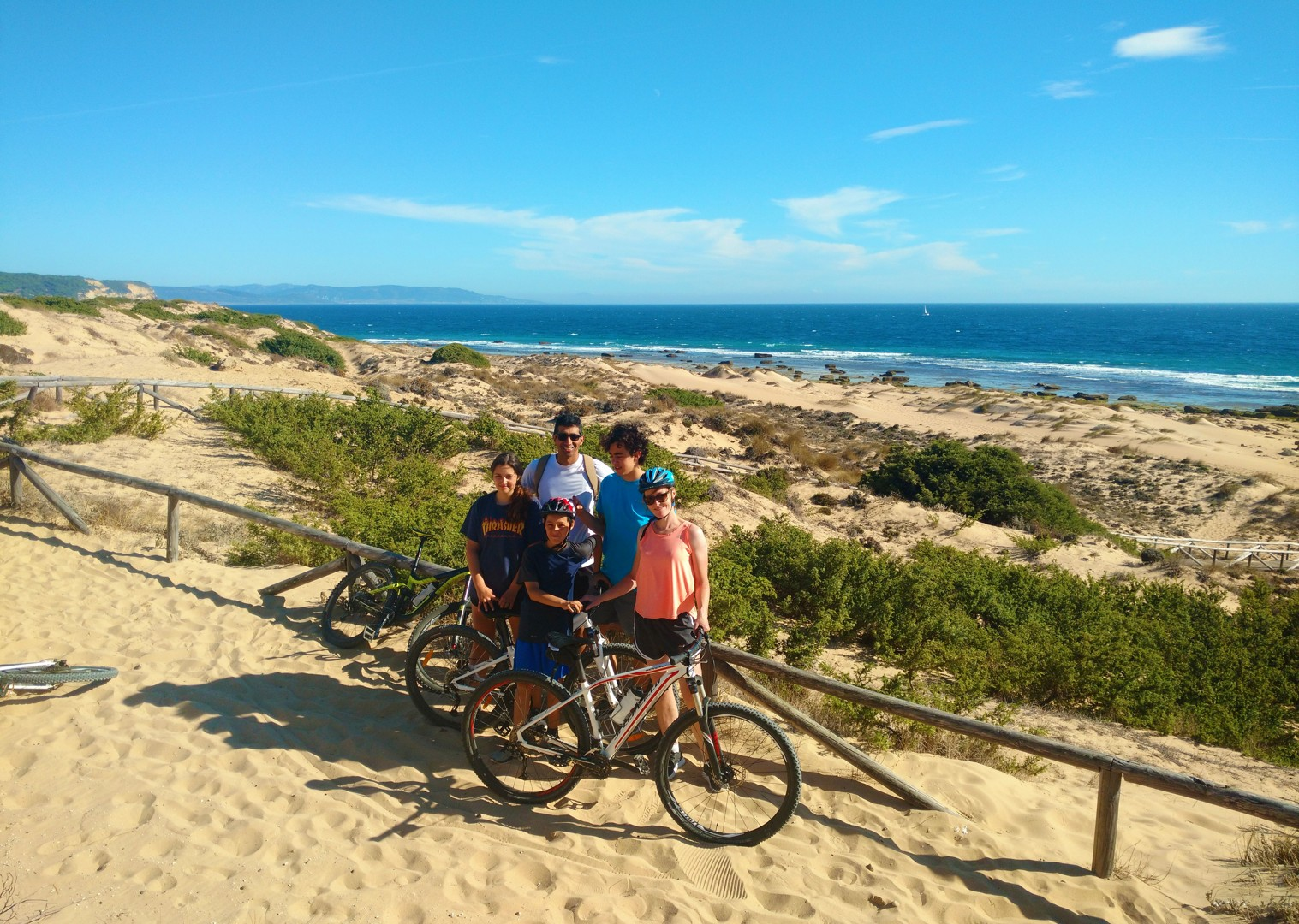 bike-holiday-spain-fun-times-on-the-beach.jpg - Southern Spain - Coastal Adventurer - Self-Guided Family Cycling Holiday - Family Cycling