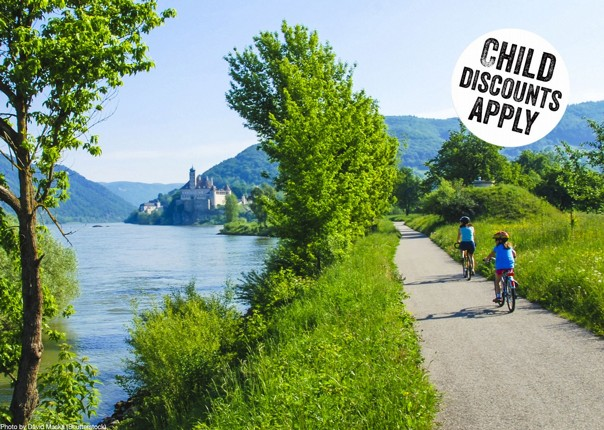 Austria - Blue Danube - Linz to Vienna - Self-Guided Family Cycling Holiday Image