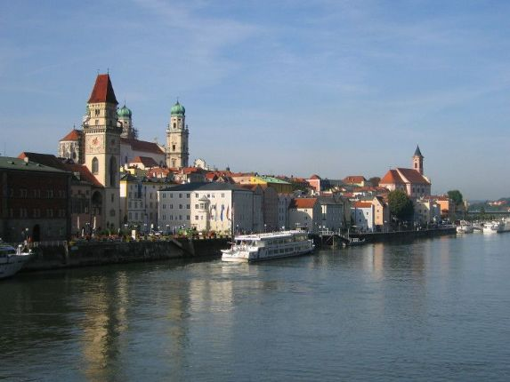 Passau River 2.jpg - Austria - Blue Danube - Linz to Vienna - Self-Guided Family Cycling Holiday - Family Cycling