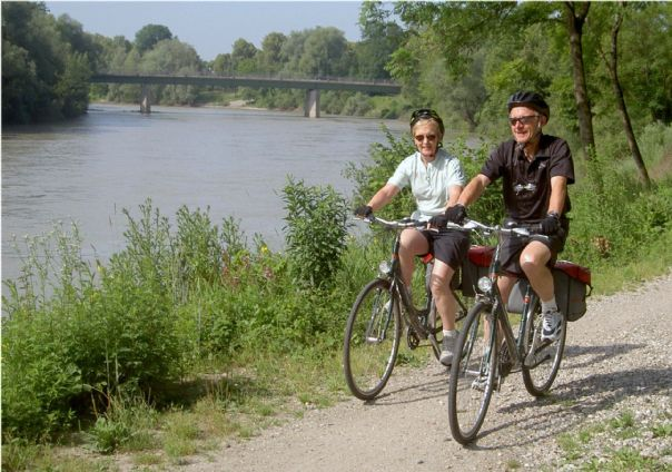 Jim+Issie1.JPG - Austria - Blue Danube - Linz to Vienna - Self-Guided Family Cycling Holiday - Family Cycling