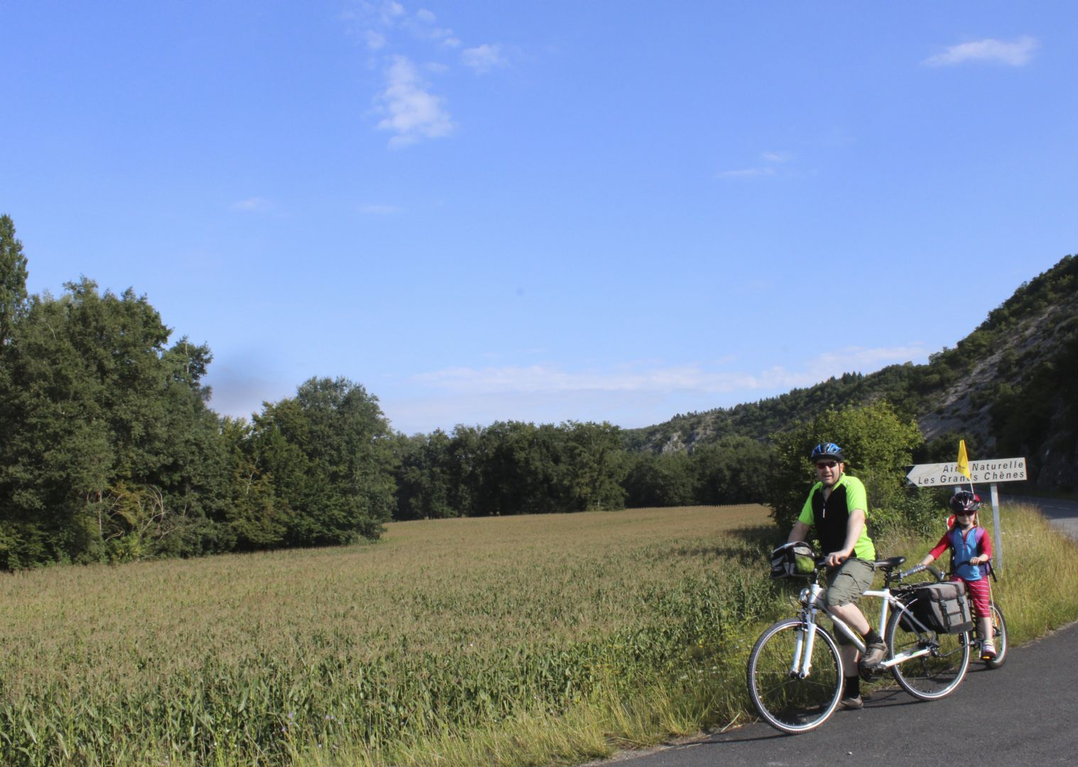 francefamilycycling.jpg - France - Dordogne Discoveries - Self-Guided Family Cycling Holiday - Family Cycling