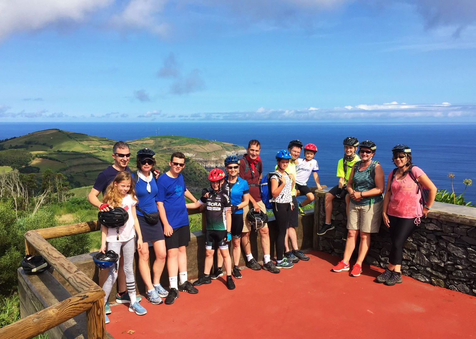 AZA17FShelly Hunt.jpg - The Azores - Azores Adventures - Guided Family Cycling Holiday - Family Cycling