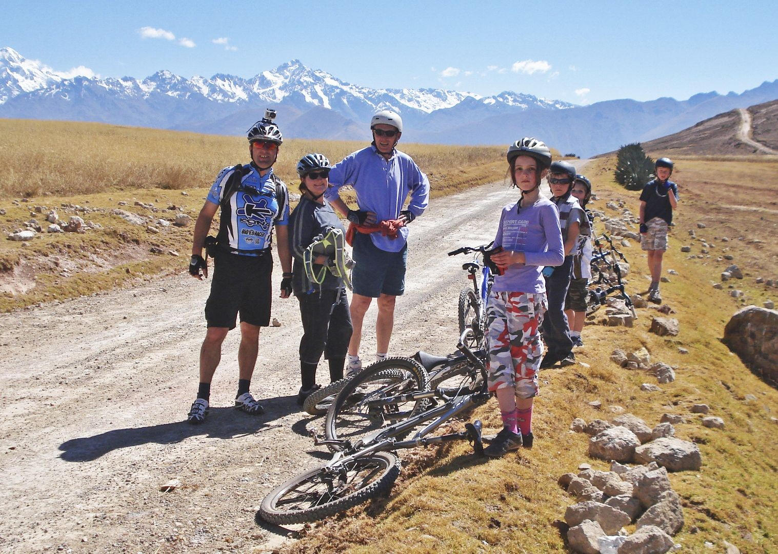 andean-adventurer-peru-guided-family-cycling-holiday-machu-picchu.JPG - Peru - Andean Adventure - Guided Family Cycling Holiday - Family Cycling