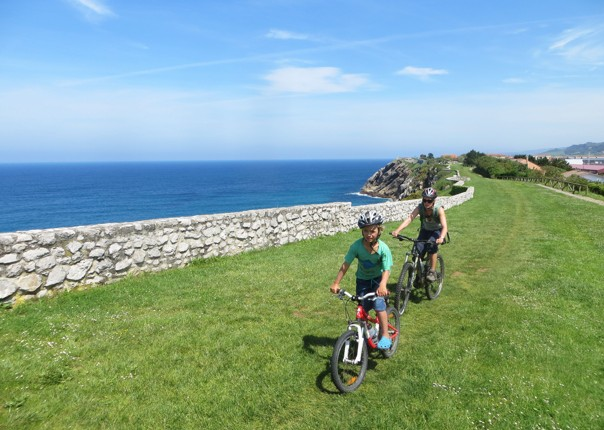 coastal-self-guided-family-cycling-holiday-northern-spain.jpg - Northern Spain - Asturian Coastal Ride - Self-Guided Family Cycling Holiday - Family Cycling