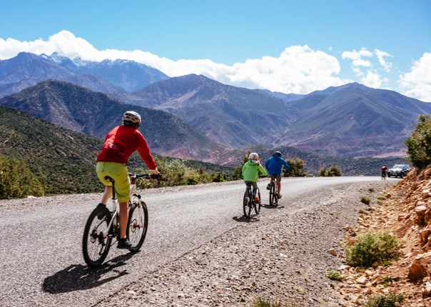 Family-Cycling-Holiday-Morocco-Desert-Mountains-Coast-biking-adventure-with-kids - Morocco - Desert, Mountains and Coast - Guided Family Cycling Holiday - Family Cycling