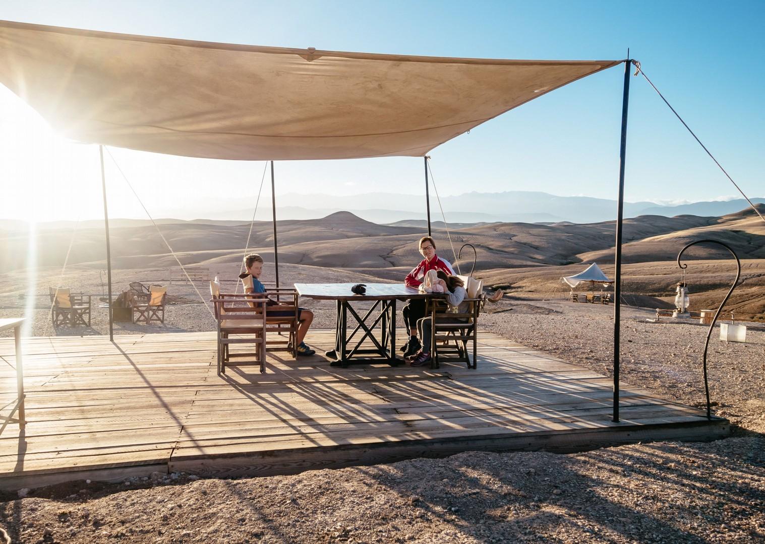 Family-Cycling-Holiday-Morocco-Desert-Mountains-Coast-Sahara-desert - Morocco - Desert, Mountains and Coast - Family Cycling