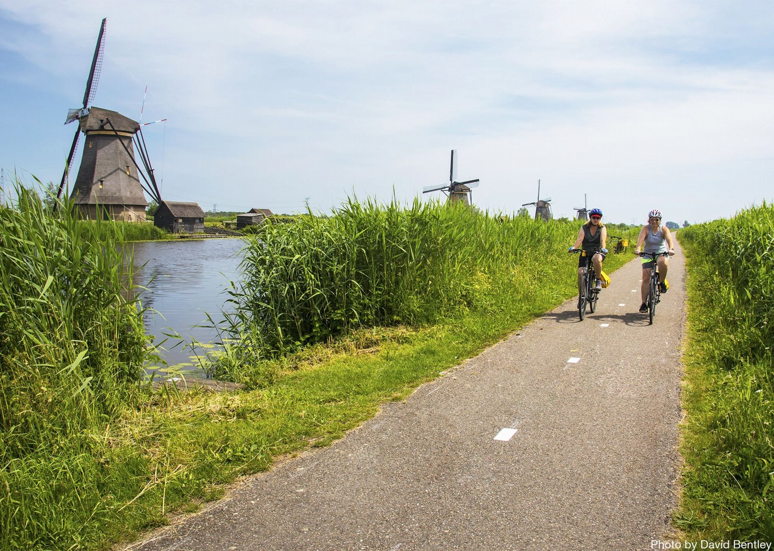 open-adventure-ride-with-beautiful-scenes.jpg - Holland - Windmills and Golden Beaches - Bike and Barge Holiday - Family Cycling