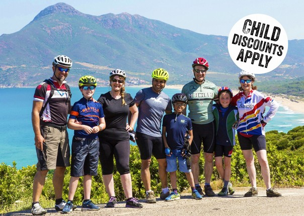 Italy - Sardinia - Family Flavours - Guided Family Cycling Holiday Image