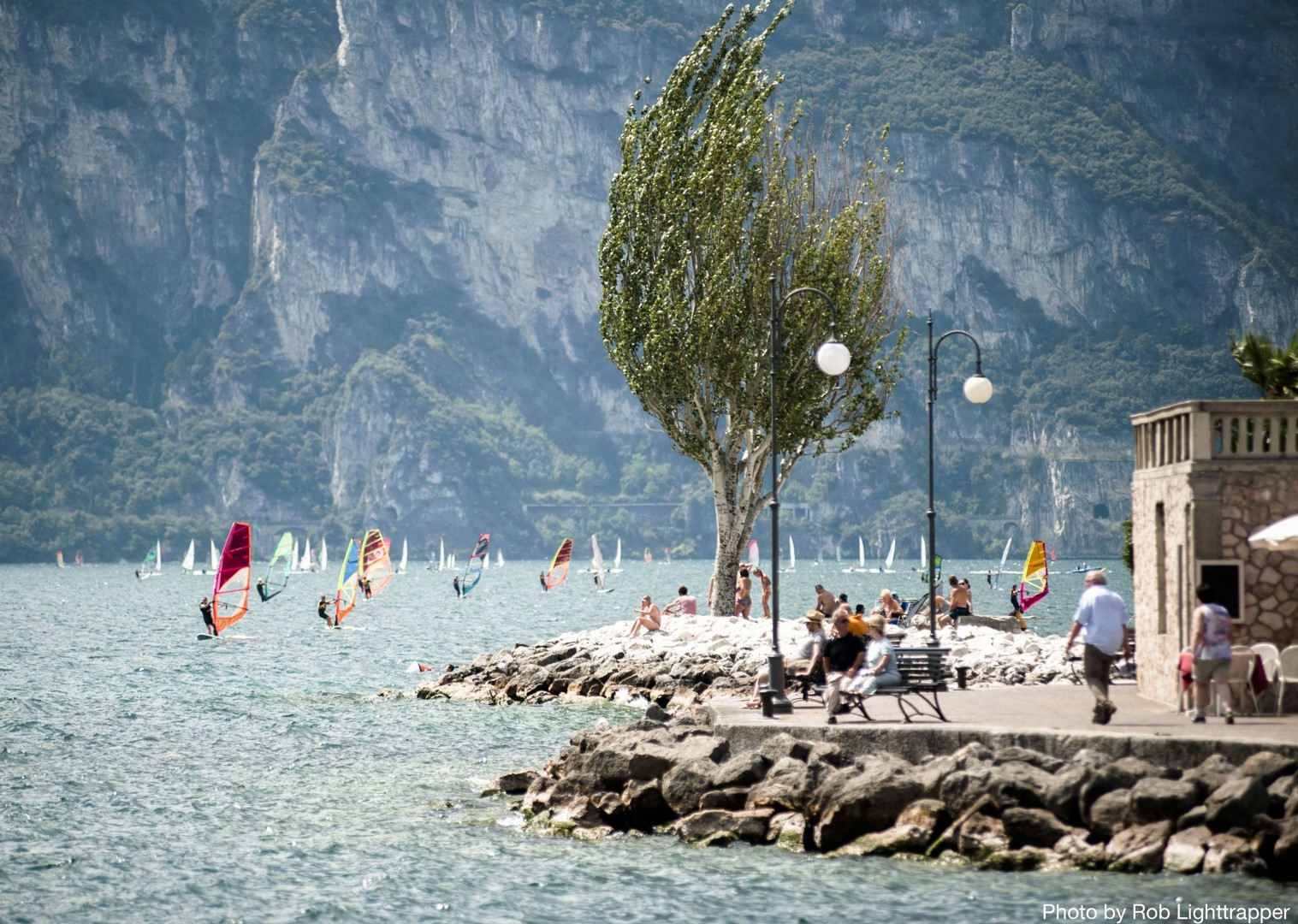 Water-Sports-for-kids-on-lake-garda-Family-Cycling-Holiday-Lake-Garda-Venice-Italy.jpg - Italy - Lake Garda to Venice - Self-Guided Family Cycling Holiday - Family Cycling