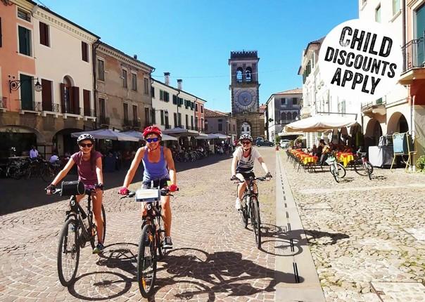 Italy - Lake Garda to Venice - Self-Guided Family Cycling Holiday Image
